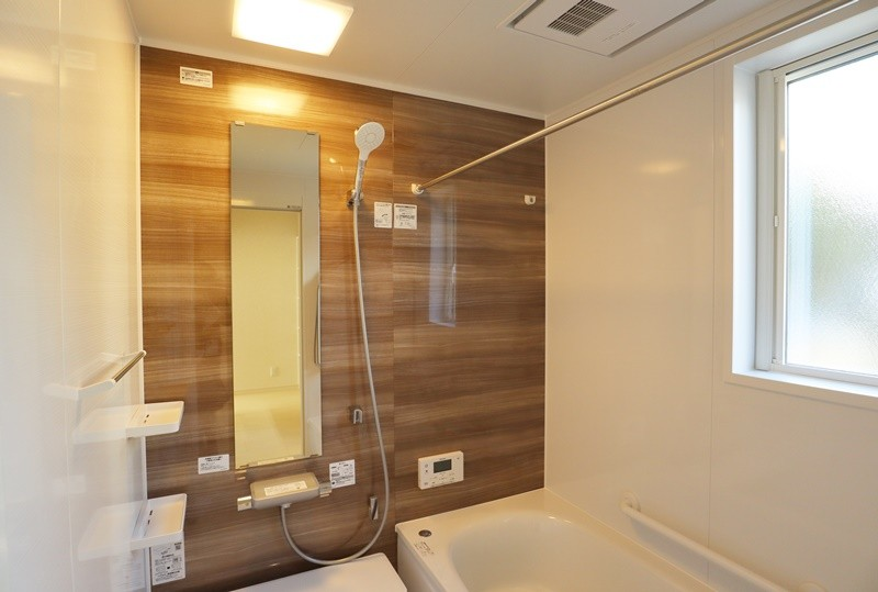 熊本市北区龍田7丁目 新築一戸建て 6号地モデルハウス 浴室