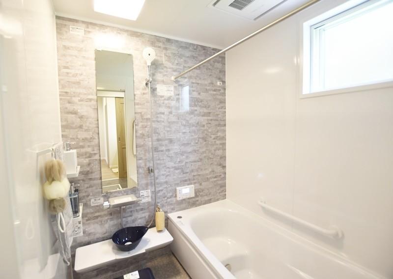 熊本市北区龍田7丁目 新築一戸建て 3号地モデルハウス 浴室