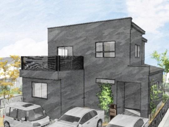 熊本市西区松尾1丁目 新築一戸建て 1号地モデルハウス・パース