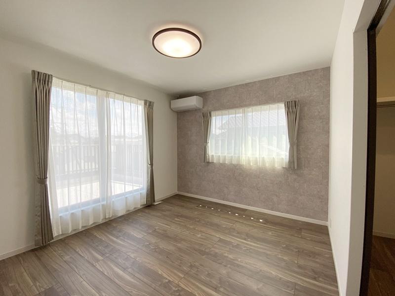 熊本市西区松尾1丁目 新築一戸建て 1号地モデルハウス 主寝室