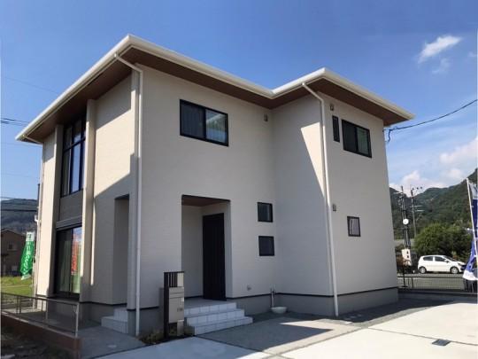 熊本市西区松尾1丁目 新築一戸建て トレステージ松尾1丁目3号地モデルハウス 外観