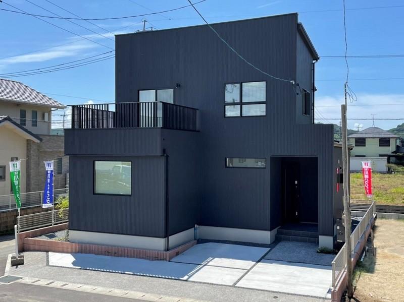 熊本市西区松尾1丁目 新築一戸建て 1号地モデルハウス 外観