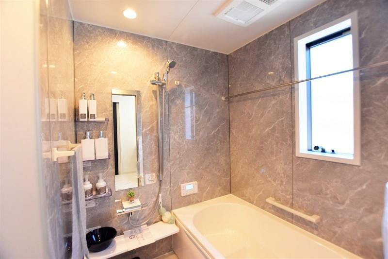 熊本市西区松尾1丁目 新築一戸建て 1号地モデルハウス 浴室