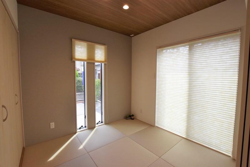 熊本市南区合志2丁目 新築一戸建て トレステージ力合小学校南5号地モデルハウス 和室