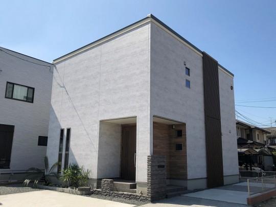 熊本市南区合志2丁目 新築一戸建て トレステージ力合小学校南4号地モデルハウス外観