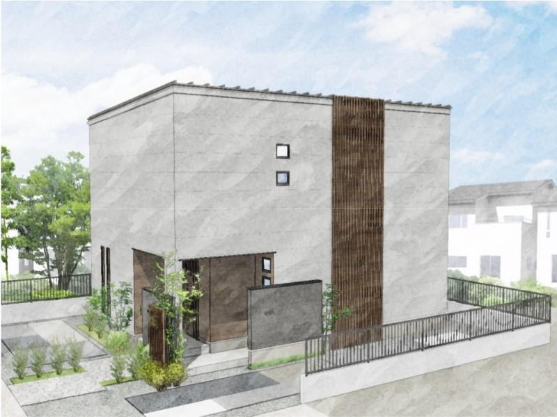 熊本市南区合志2丁目 新築一戸建て トレステージ力合小学校南4号地モデルハウスイメージパース