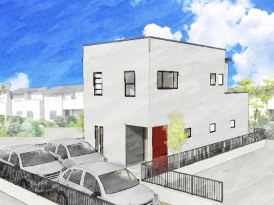 熊本市南区合志2丁目 新築一戸建て トレステージ力合小学校南5号地モデルハウスイメージパース