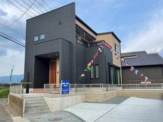 菊池郡大津町 新築一戸建て トレステージ大津北中学校前1号地モデルハウス 外観
