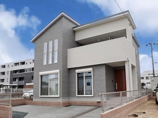 熊本市東区長嶺東4丁目 新築一戸建て 3号地モデルハウス 外観