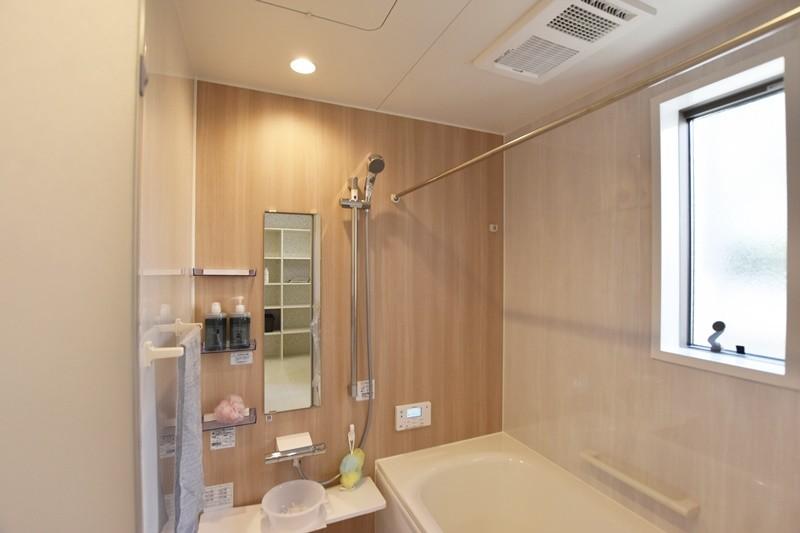 熊本市東区八反田3丁目 トレステージ託麻西小学校前Ⅳ3号地モデルハウス 浴室