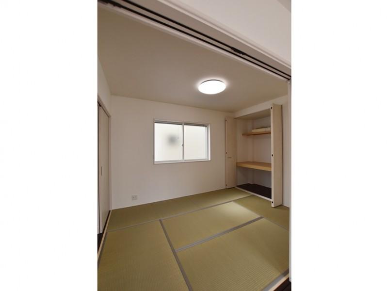 4号地 6帖の十分な広さの和室