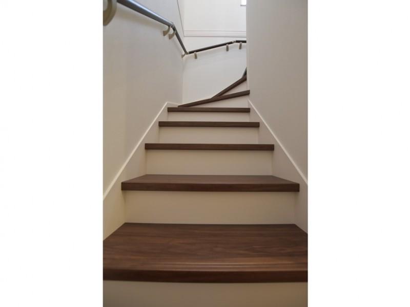 4号地 17段のゆったり階段