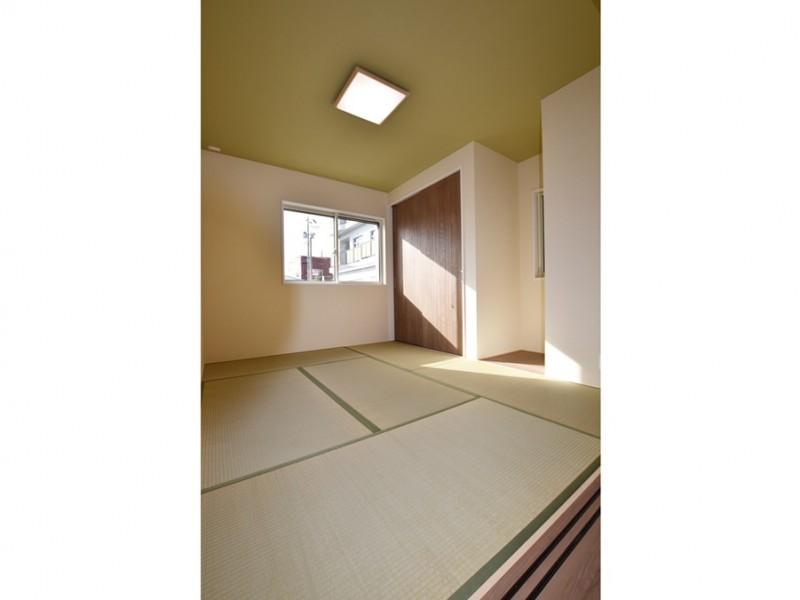 1号地 6畳の和室