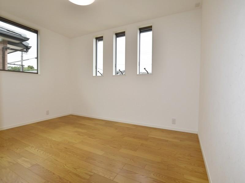 3号地洋室A:各洋室とも6帖以上とゆとりの広さです。