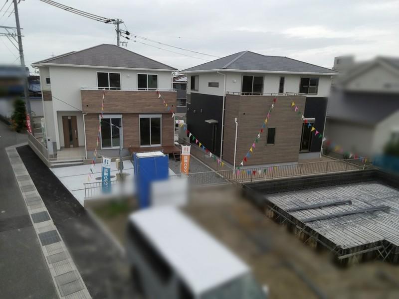 街並み写真 3号地も建築開始いたしました!
