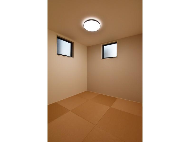 1号地 カビが発生し難い琉球畳を使用した和室です。